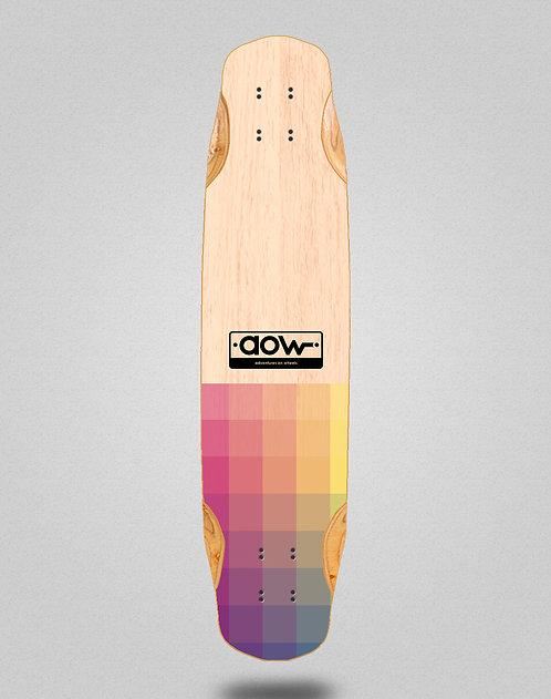 Aow Pixels longboard deck 38x8.45