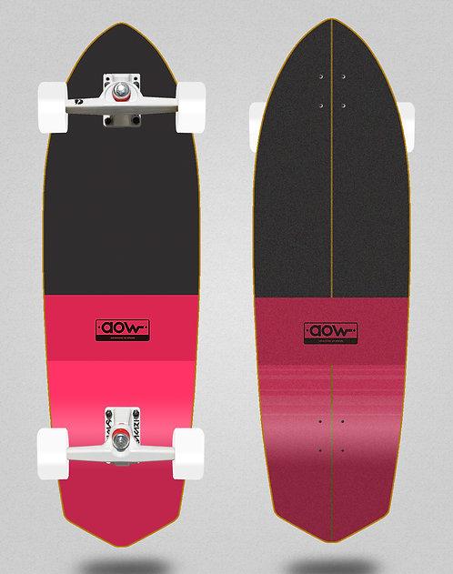 Aow surfskate SGI trucks Fastskate classic red 33