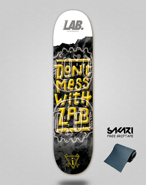 Lab skate deck Don´t mess with lab