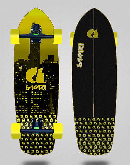 Sakari cruiser - City yellow 34