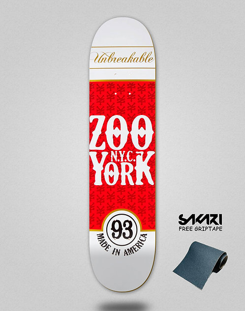 Zoo York deck Red Label 8.0