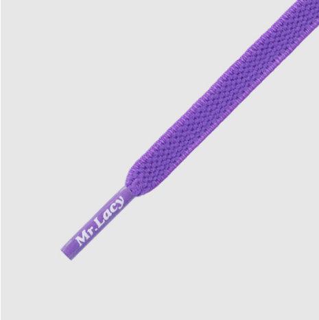 Mr lacy - cordones Flexies violet 90cm
