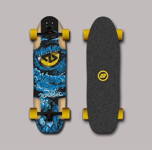 Hydroponic longboard complete - Dragon blue 35x9.88