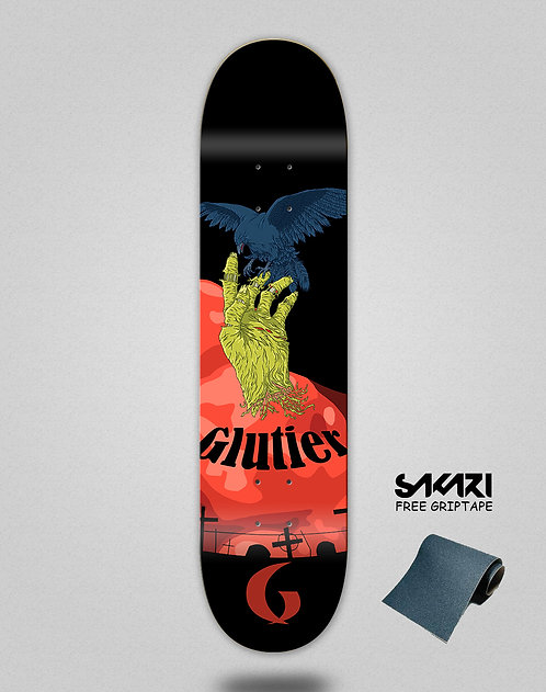 Glutier Zombie hand skate deck