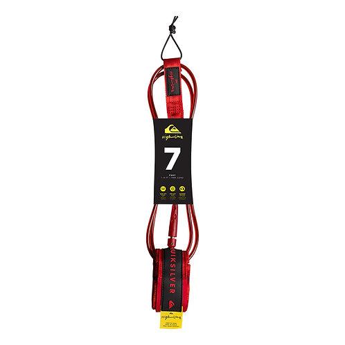 Quiksilver leash 7 Feet red