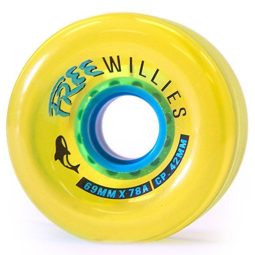 Free Wheel Co. 69mm 78a Willies