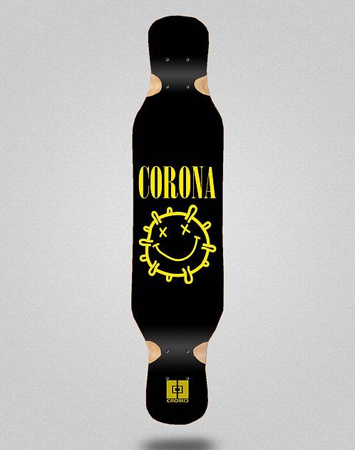 Cromic Covid Corona longboard deck 46x10