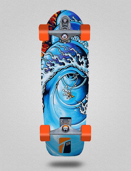 Txin surfskate - Fire barrel 30.5