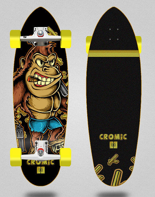Cromic surfskate SGI Donkey crazy food 32.5 deep