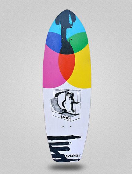 Sakari surfskate deck - Chroma 31