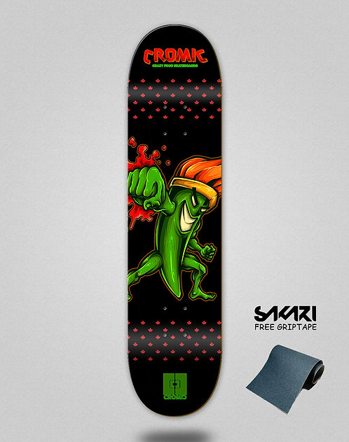 Cromic Pepper crazy food skate deck