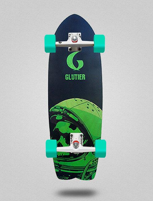 Glutier surfskate - Space mirror green 29