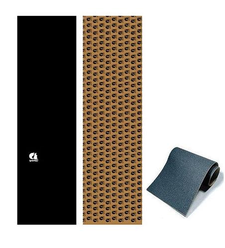 Sakari skate griptape Classic white Anti bubbles 84x23cm