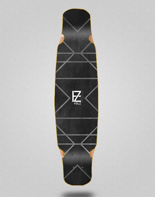 Holz Gram lux longboard deck bamboo dance 46x9