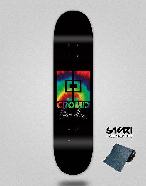 Cromic Pierre Moritz black skate deck