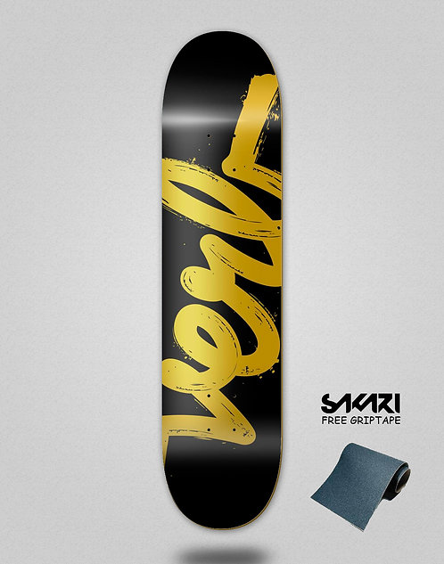 Verb skate deck Paint logo 8.0