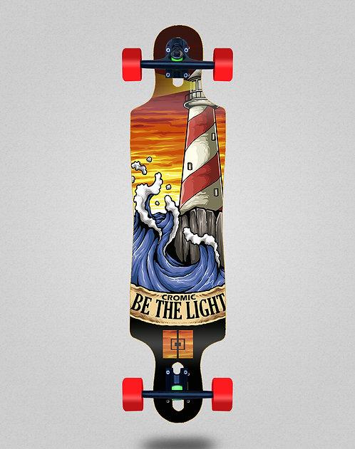 Cromic Be the light longboard complete 40x9