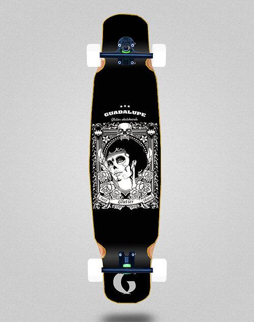 Glutier Guadalupe black longboard dance complete 46x9
