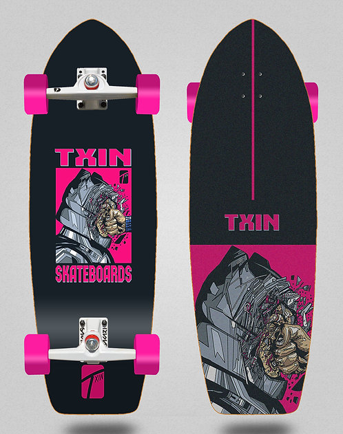 Txin surfskate SGI trucks - Destruction 29