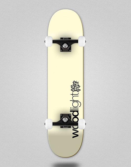 Wood light Basic yellow cream skate complete