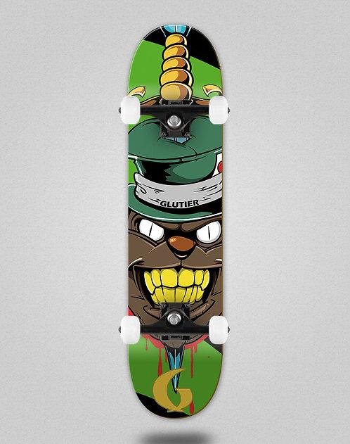 Glutier Gr cat green skate complete