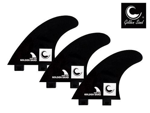 Golden Sand surf fins (set 3) FCS style