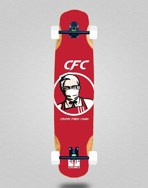 Cromic Covid Fried longboard complete 38x8.45