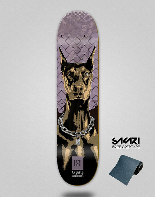 Loyalty deck Dog purple