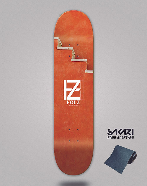Holz Stairs Doha skate deck