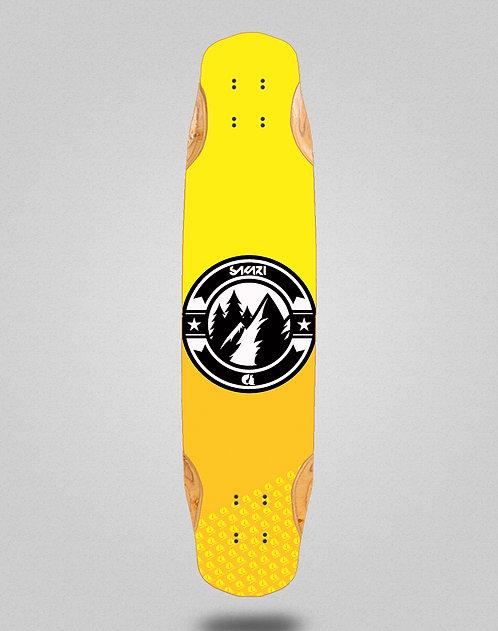 Sakari Downhill juice yellow longboard deck 38x8.45