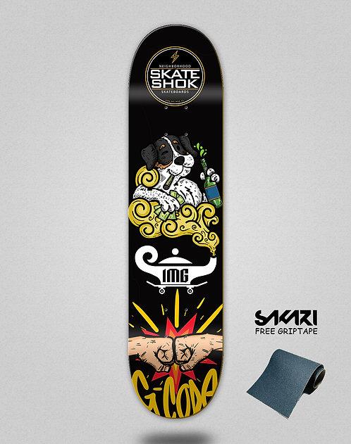 Skate shok deck G-Code black