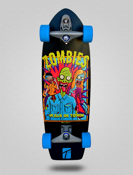 Txin surfskate - Zombie town 29