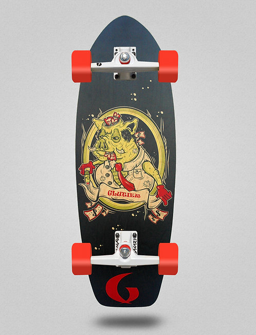 Glutier surfskate - Tell Mou 31