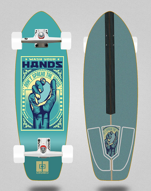 Cromic surfskate SGI Covid Wash your hands 31