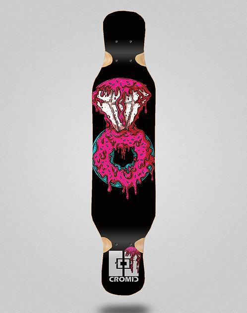Cromic Donat pink longboard deck 46x10