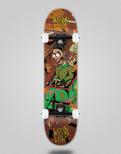 Wood light Ladeira series Ortiz skate complete