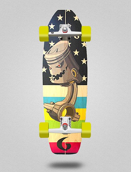 Glutier surfskate - Piston 31,5