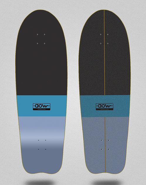 Aow surfskate deck Fastskate classic blue 31