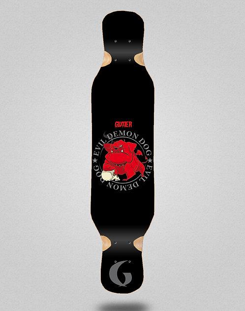 Glutier Demon dog longboard deck 46x10