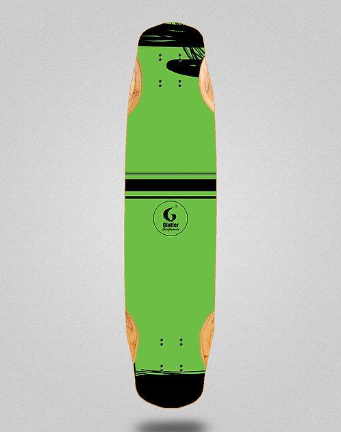 Glutier Grass longboard deck 38x8.45
