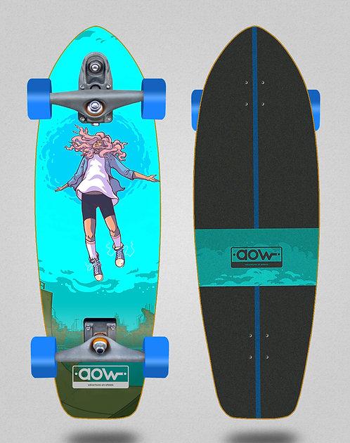 Aow surfskate T12 trucks Floating blue 31