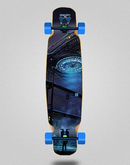 Cromic Eduardo Prieto Invasion longboard complete mix bamboo 46x9