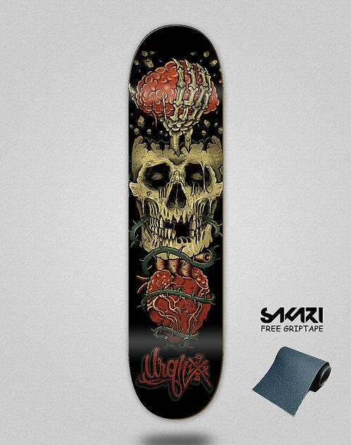 Urgh skate deck Skull Destruction