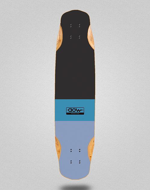 Aow Fastskate classic blue longboard deck 38x8.45