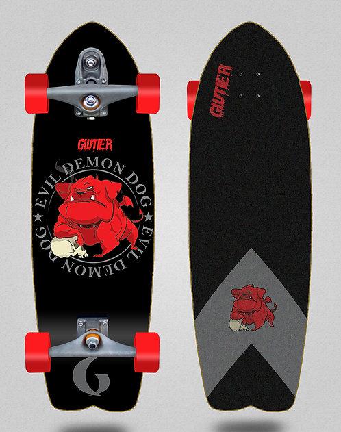 Glutier surfskate : Demon dog 29