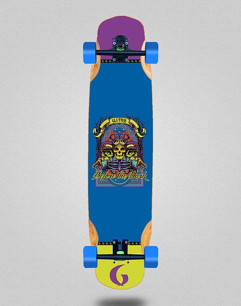 Glutier Before the dark longboard complete 38x8.45