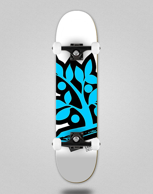 Wood light Logotipia blue skate complete