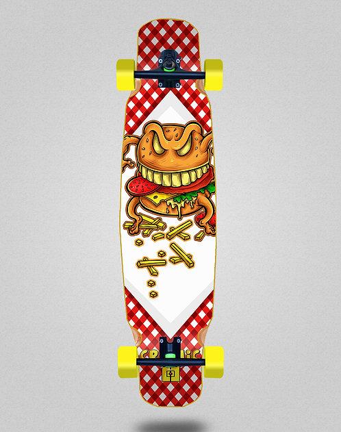 Cromic Burger crazy food longboard dance complete 46x9