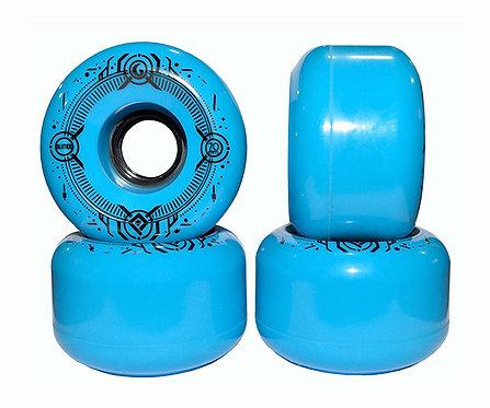 Glutier wheels : 70x43cm / 80a blue
