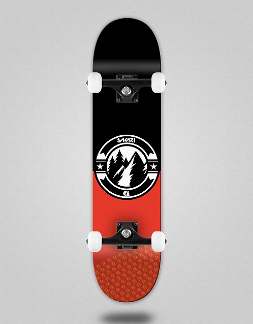 Sakari Downhill juice black red skate complete